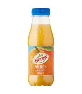 Hortex Sok 100% pomarańcza 300 ml