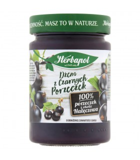 Herbapol Dżem z czarnych porzeczek o obniżonej zawartości cukru 280 g