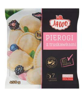 Jawo Pierogi z truskawkami 450 g