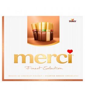 merci Finest Selection Kolekcja czekoladek z musem czekoladowym 210 g