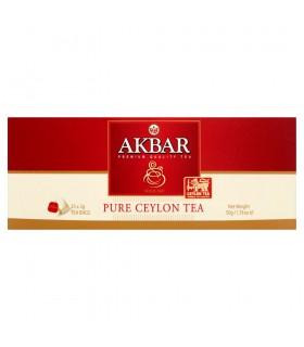 Akbar Pure Ceylon Herbata czarna 50 g (25 torebek)
