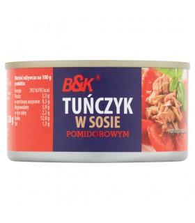 B&K Tuńczyk w sosie pomidorowym 185 g