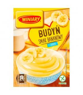 Winiary Budyń z cukrem smak bananowy 60 g