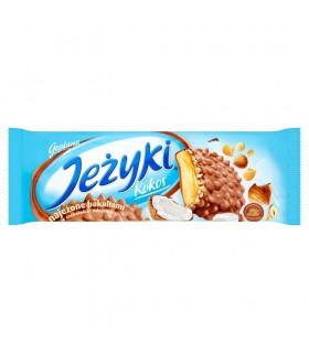Jeżyki Kokos Herbatniki w czekoladzie mlecznej 140 g