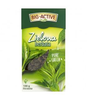 Big-Active Zielona herbata Pure Green liściasta 100 g