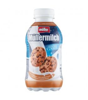 Müller Müllermilch Napój mleczny o smaku ciasteczka-czekolada-karmel 400 g