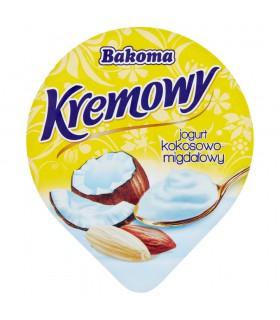 Bakoma Kremowy Jogurt kokosowo-migdałowy 150 g
