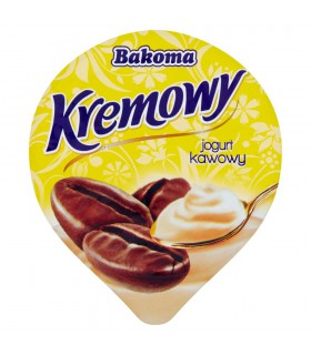Bakoma Kremowy Jogurt kawowy 150 g