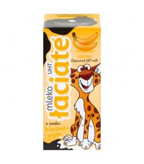 Łaciate Mleko UHT o smaku bananowym 200 ml