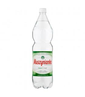 Muszynianka Naturalna woda mineralna wysokozmineralizowana niskonasycona CO2 1,5 l