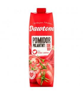 Dawtona Sok 100% pomidor pikantny 1 l