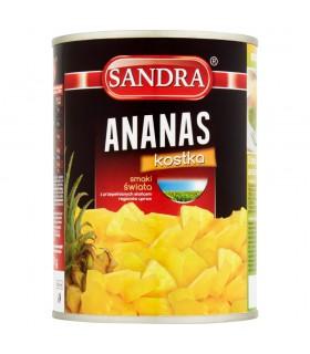 Sandra Ananas kostka 565 g