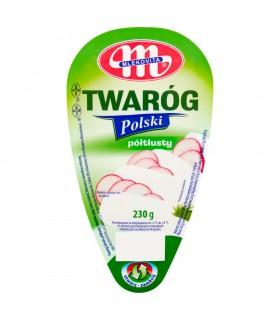 Mlekovita Twaróg Polski półtłusty 230 g
