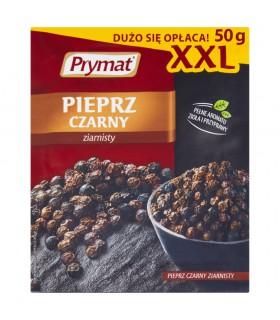 Prymat Pieprz czarny ziarnisty XXL 50 g
