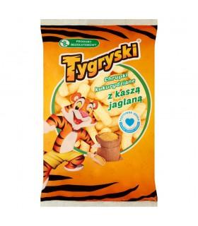 Tygryski Chrupki kukurydziane z kaszą jaglaną 50 g