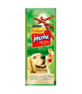Friskies Picnic Karma dla psów z wołowiną 42 g (5 sztuk)