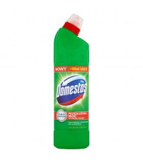 Domestos Przedłużona Moc Pine Fresh Płyn czyszcząco-dezynfekujący 750 ml