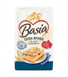 Basia Mąka Extra wypiek pszenna typ 550 1 kg