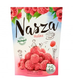 Herbapol Nasza Malina Herbatka owocowo-ziołowa 47,5 g (25 torebek)