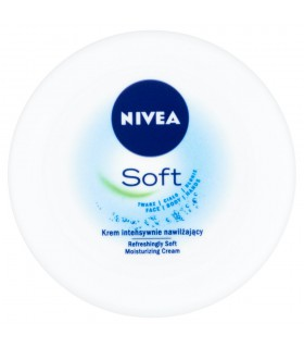 NIVEA Soft Krem intensywnie nawilżający 100 ml
