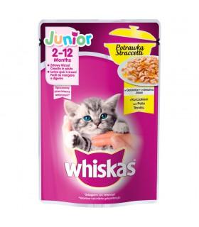 Whiskas Junior Karma pełnoporcjowa potrawka w galaretce z kurczakiem 85 g