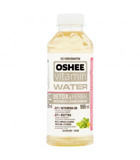 Oshee Vitamin Water Detox & Herbal Napój niegazowany o smaku mięty 555 ml