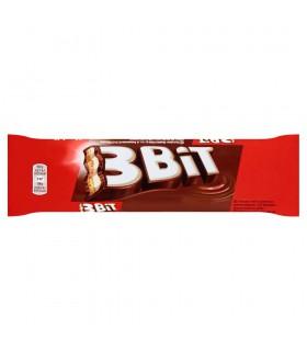 3Bit Baton w czekoladzie mlecznej z nadzieniem mlecznym i herbatnikiem 46 g