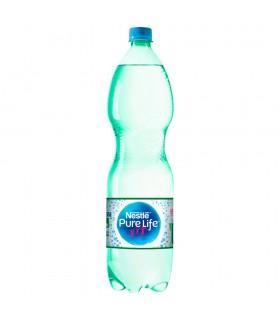 Nestlé Pure Life Woda źródlana gazowana 1,5 l