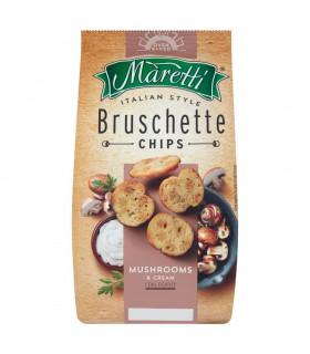 Maretti Pieczone krążki chlebowe o smaku grzybów ze śmietaną 70 g