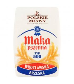 Polskie Młyny Mąka pszenna wrocławska brzeska typ 500 1 kg