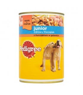 Pedigree Junior z kurczakiem w galaretce Karma pełnoporcjowa 400 g