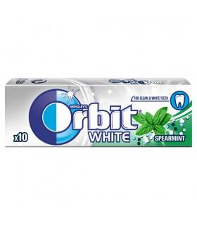 Orbit White Spearmint Guma do żucia bez cukru 14 g (10 drażetek)