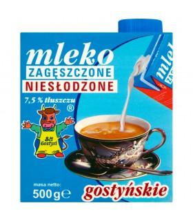 SM Gostyń Mleko gostyńskie zagęszczone niesłodzone 7,5% 500 g