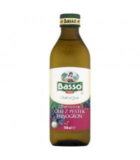 Basso Olej z pestek winogron 500 ml