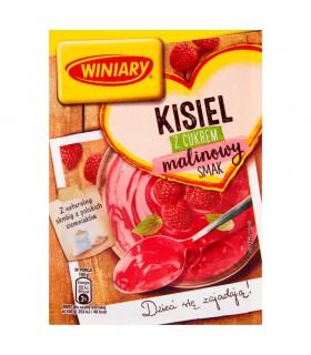 Winiary Kisiel z cukrem malinowy smak 77 g