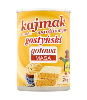 SM Gostyń Kajmak o smaku waniliowym gostyński 510 g