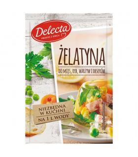Delecta Żelatyna do mięs ryb warzyw i deserów 20 g