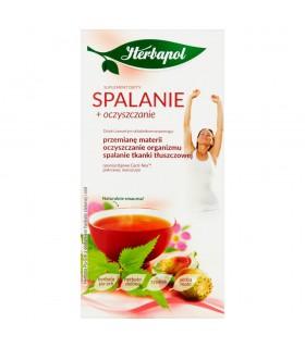 Herbapol Spalanie + oczyszczanie Suplement diety herbata Pu-Erh 40 g (20 x 2 g)