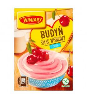 Winiary Budyń z cukrem smak wiśniowy 60 g