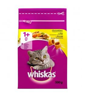 Whiskas 1+ lat Karma pełnoporcjowa przepyszne paszteciki z kurczakiem 300 g