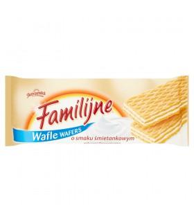 Familijne Wafle o smaku śmietankowym 180 g