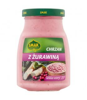 Smak Chrzan z żurawiną lekko ostry 175 g