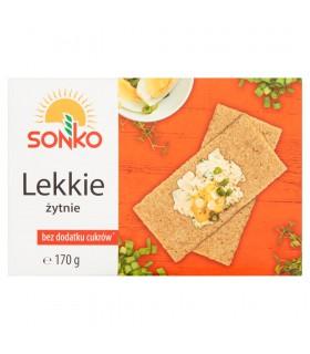 Sonko Pieczywo Lekkie żytnie 170 g